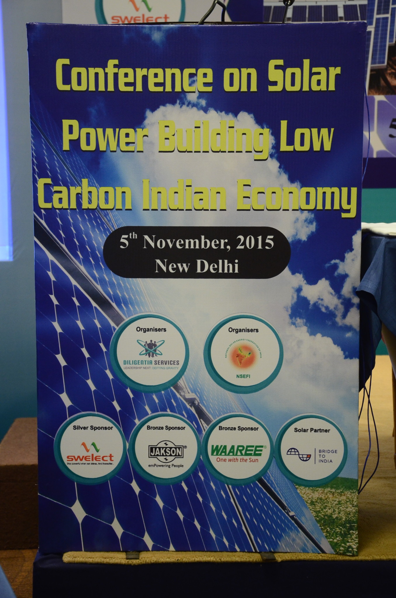 Conference On Solar Power Building Low carbon India Economy